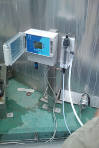 Online Dissolved Ozone Analyser Installation in Turkey