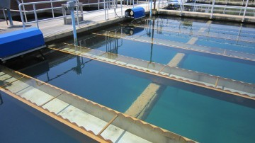 Water treatment site where a Coagulation Monitor used