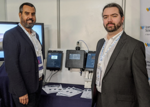 David from Izasa (pictured left) with Daniel from Pi at ENEG